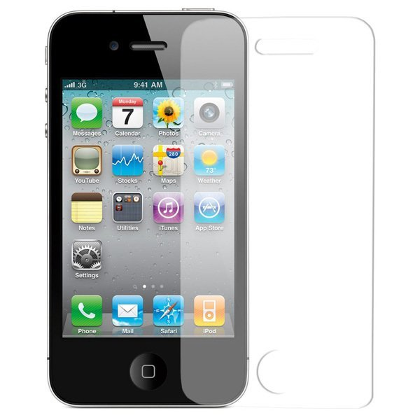 Wellcomm Screen Protector EZ Wipe iPhone 4S