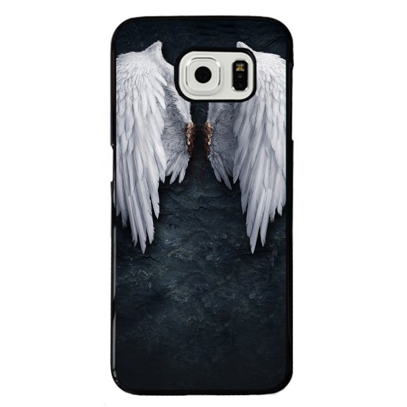 White Wings Painting Phone Case for Samsung Galaxy S5(E5000) (Multicolor)
