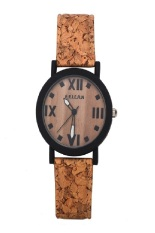 Wholesale Quartz Vintage Leather Watch Ladies Students Retro Wrist Watches Chinoiserie Casual Wristwatches Gift (Brown)
