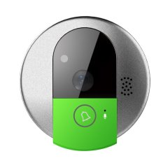 WIFI IP Video Door Phone Wireless Door Intercom Doorbell with HD 720P, Mobile Viewing and Two Way Voice (Intl)
