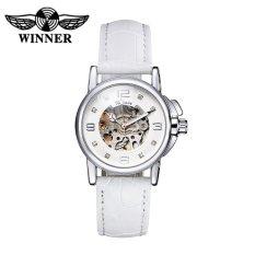 WINNER Fashion OL Style Watch High Quality Hollowed-out Self-winding Automatic Mechanical Women Wristwatch (Intl)