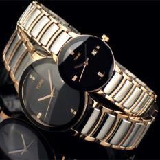 Womdee YOME's Watch Is Brand Mens Watch Waterproof Fashion Quartz Watch Fine Steel Lovers Fashion Watch (Couple Watch)