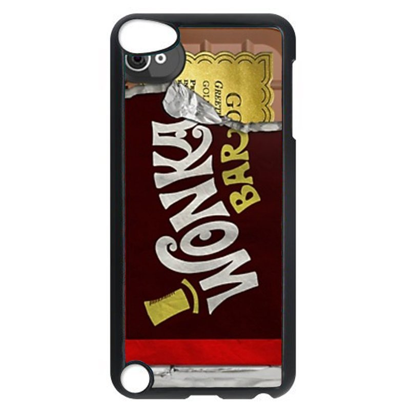 Wonka Bar Pattern Phone Case for iPod Touch 4 (Black)