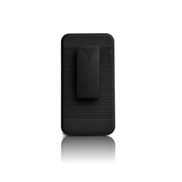 XCase Blackberry Z10 Slim Rubberized Case with Clip Belt - Hitam
