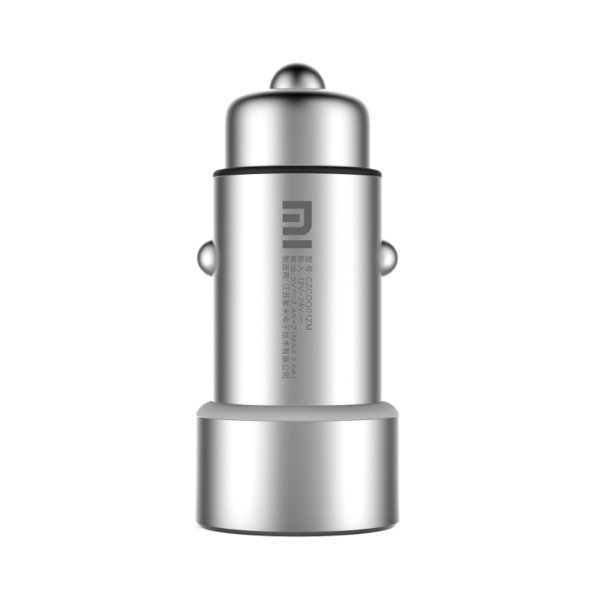 Xiaomi 5V 3.6A Max Output 2 USB Ports Universal Car Charger for 12 inch Macbook, iPhone and iPad, Other Tablet and Phone(Silver) (Intl)