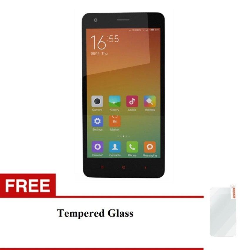 Xiaomi Redmi 2 Prime - 16GB - Distributor - White + Bonus Tempered Glass