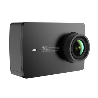 Xiaomi Yi 2nd gen action camera with 4k - Hitam - International version