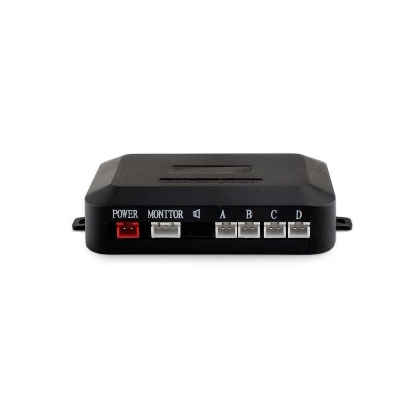 XY-5301 Intelligent Parking Assistance System Parking Sensor w/ Four Sensors (Black)