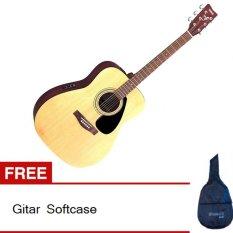 Yamaha Gitar Akustik Elektrik Fx310 - Cokelat + Gratis Softcase