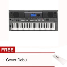 Yamaha Keyboard PSR E443 + Cover Debu