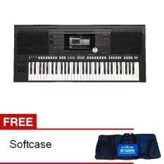 Yamaha Keyboard PSR S-770 - Hitam + Gratis Softcase