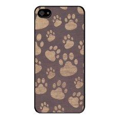 Y&M Dog Footprint iPhone 5/5s Phone Case (Multicolor)