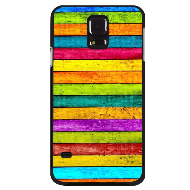 Y&M Abstract Painting Stripes Samsung Galaxy S5 Phone Cover (Multicolor)