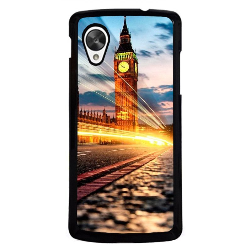 Y&M Big Ben Clock Night Light Phone Case for LG Nexus 5 Multicolor