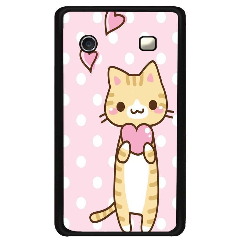 Y&M Black Berry 9900 Mobile Phone Case Cute Kitty Cat Printed Cover (Multicolor)
