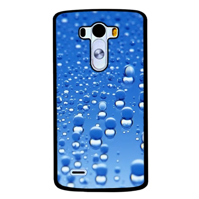 Y&M Blue Water Droplets Pattern Cell Phone Cases For LG G3 (Multicolor)