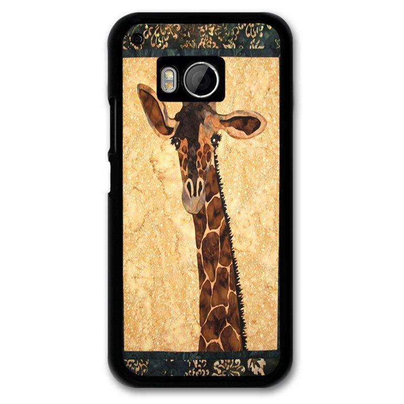 Y&M Brown Giraffe Phone Shells for HTC M9 Multicolor