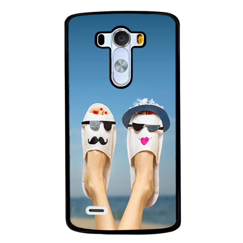 Y&M Cell Phone Case For LG G4 Funny Shoses Pattern Cover (Multicolor)