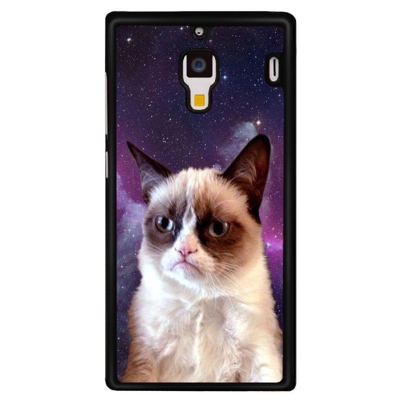 Y&M Cell Phone Case For XiaoMi RedMi 1S Famouse Grumpy Cat Pattern Cover (Multicolor)