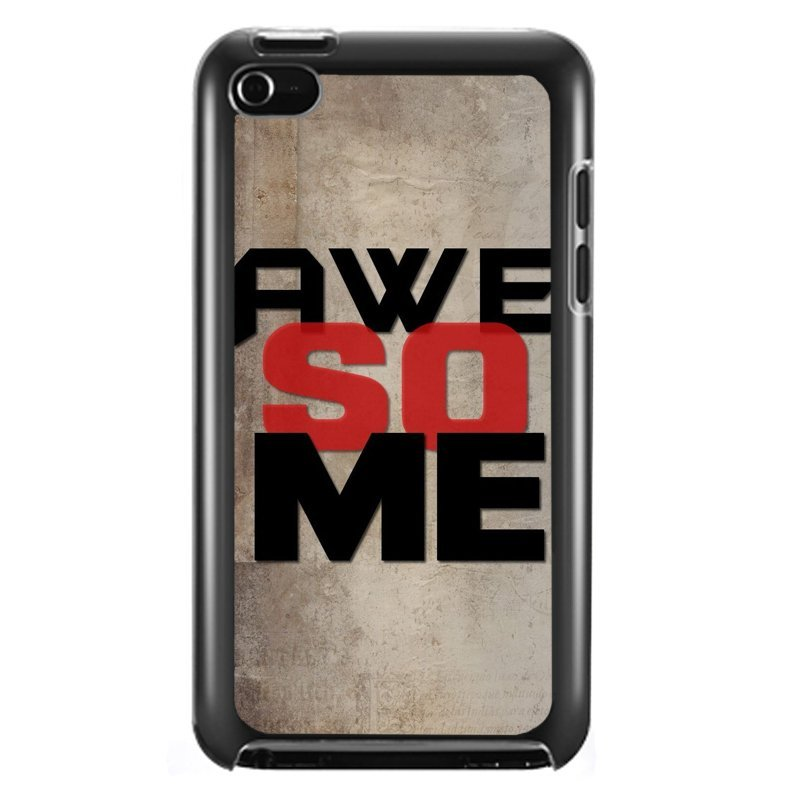 Y&M Cool Awesome iPod Touch 4 Phone Cover (Multicolor)