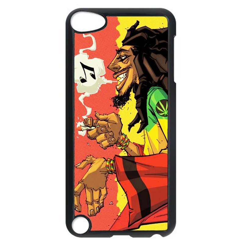 Y&M Cool Smoking Man Phone Case for iPod Touch 5 (Multicolor)