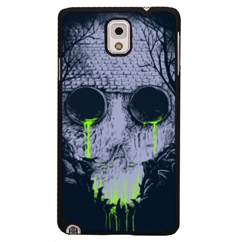 Y&M Creative Skull Pattern Phone Case for Samsung Note 3 (Black)