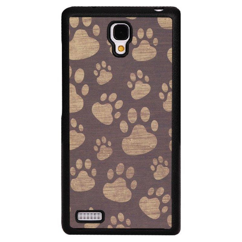 Y&M Dog Footprint XiaoMi RedMi Note Phone Cover (Multicolor)