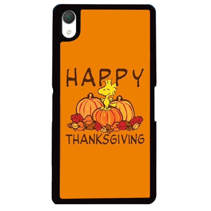 Y&M Happy Thanksgiving Phone Case SONY Xperia Z2 (Multicolor)