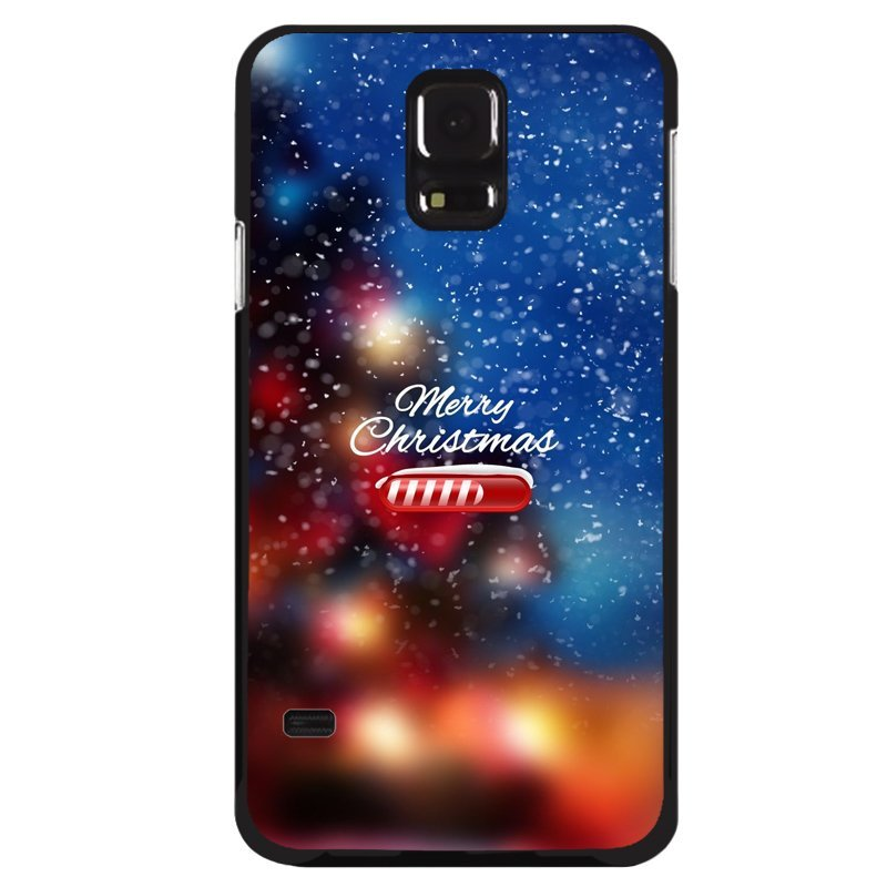 Y&M Merry Chirstmas Snow Samsung Galaxy S5 Phone Shells (Multicolor)