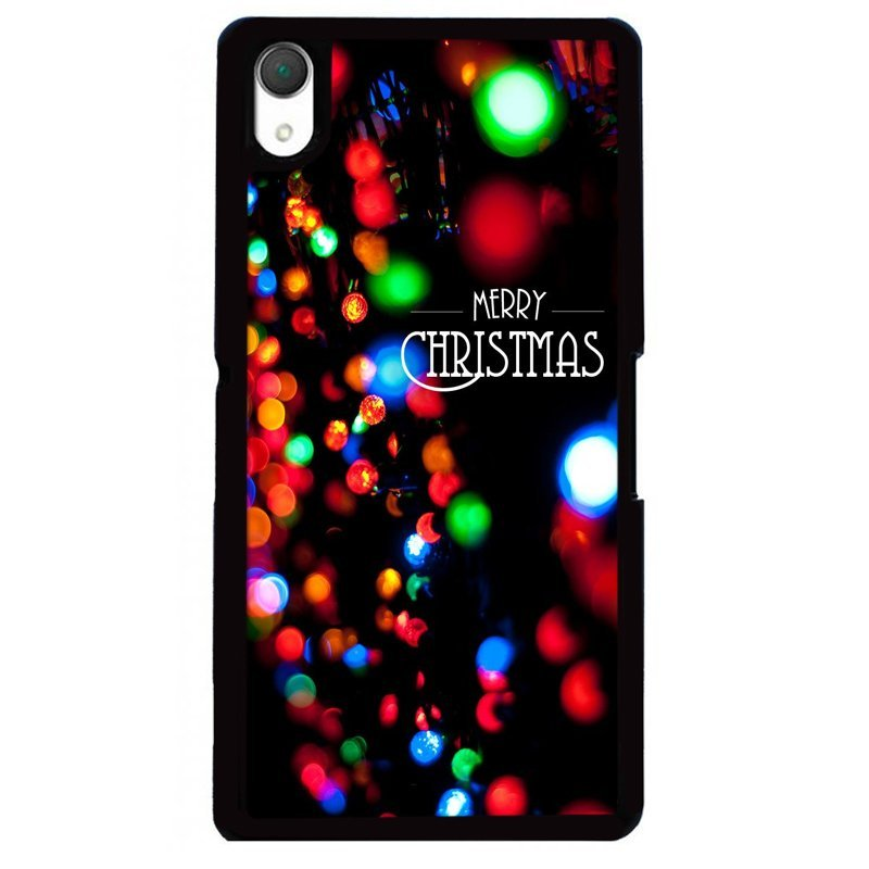 Y&M Merry Christmas Dots Phone Case for SONY Xperia Z4 (Multicolor)