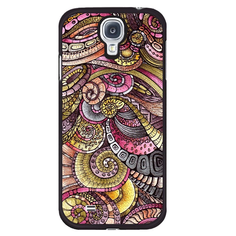 Y&M Personality Pattern Phone Samsung Galaxy S4 Mini Case (Multicolor)