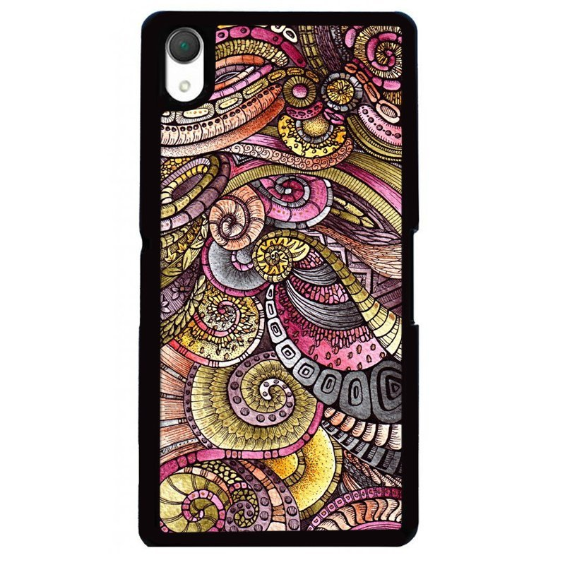 Y&M Personality Pattern Phone Sony Xperia Z1 Case (Multicolor)