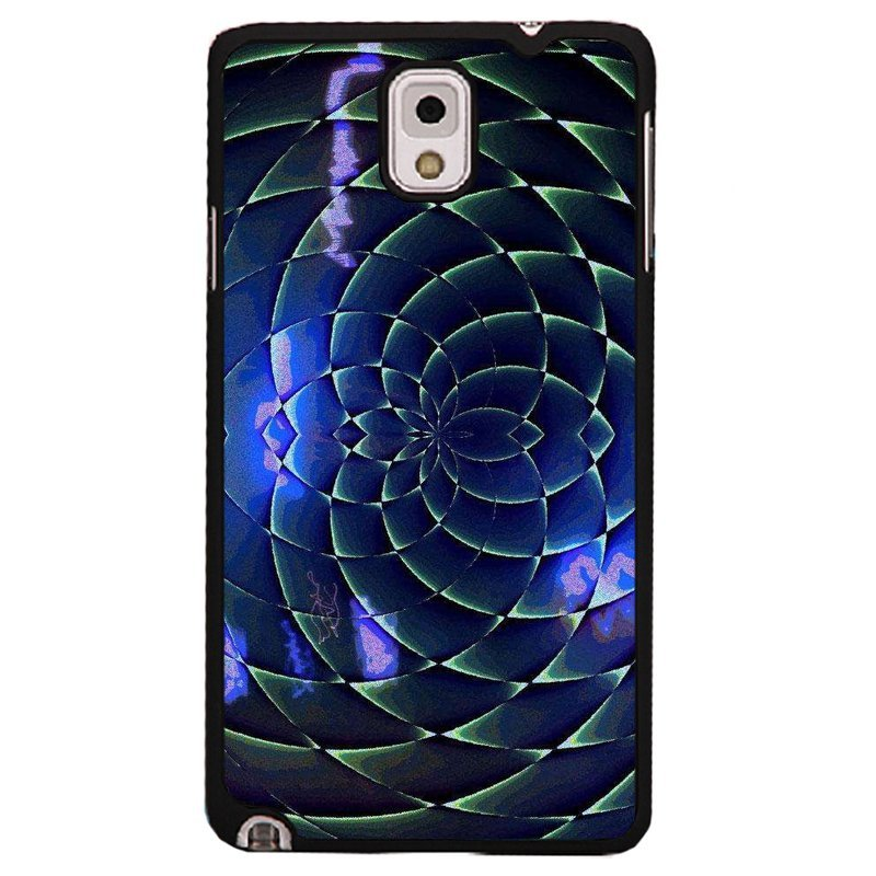 Y&M Phone Case For Samsung Galaxy Note 3 Personality Art Pattern Cover (Multicolor)