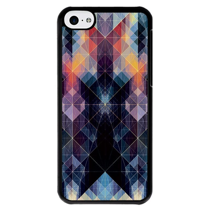 Y&M Phone Covers Colorful Abstract Pattern iPhone 5C (Multicolor)