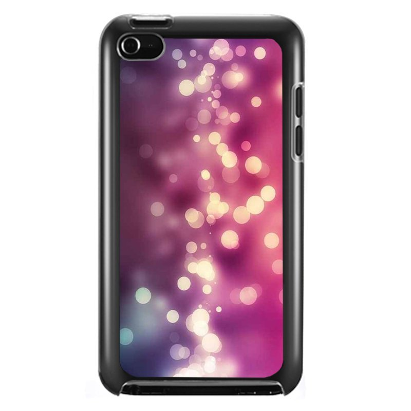 Y&M Pink Shining Dots iPod Touch 4 Phone Case (Multicolor)