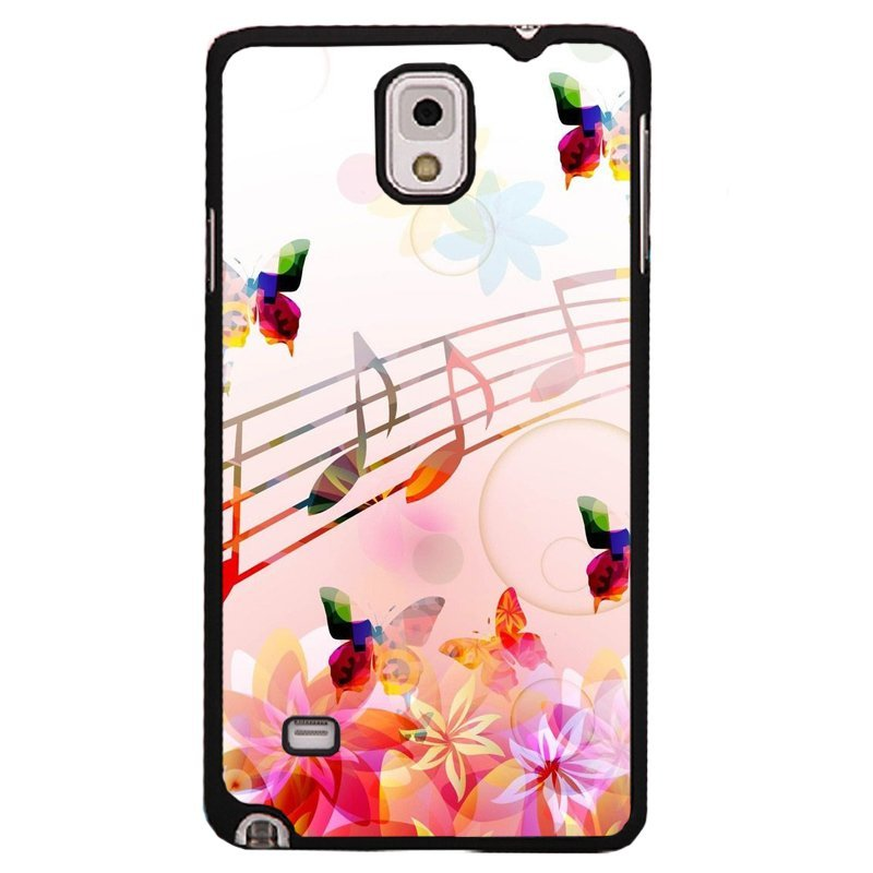 Y&M Samsung Galaxy Note 4 Colorful Butterfly Phone Case (Multicolor)