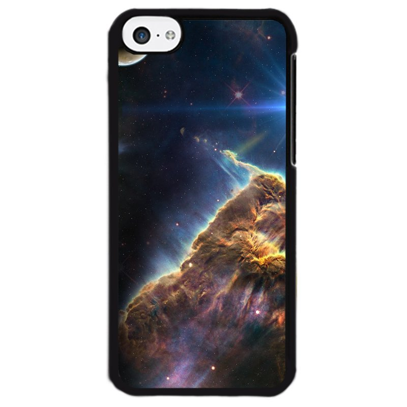 Y&M Star Aurora Galaxy Phone Case for iPhone 5C Multicolor