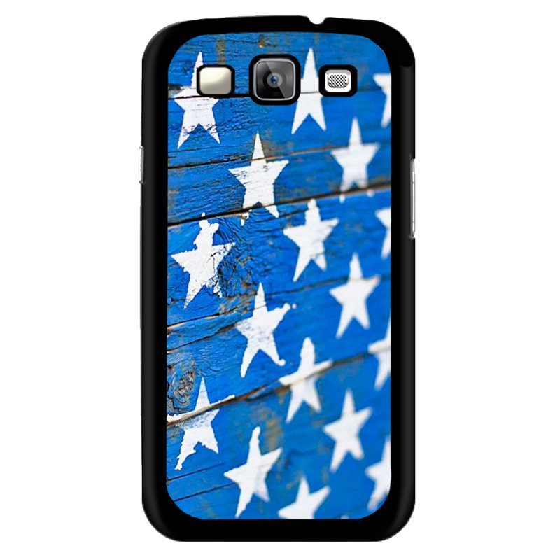 Y&M White Stars Wool Phone Case for Samsung Galaxy J1 (Multicolor)