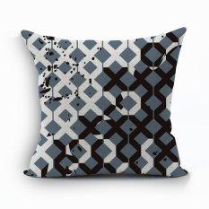 Yazilind New Sample Pattern Decorative Pillowcase Room Sofa Home 45*45CM / 17.55*17.55 Inch