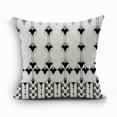 Yazilind Sample Pattern Decorative Pillowcase Room Sofa Home 45*45CM / 17.55*17.55 Inch (Intl)