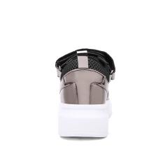 YINGLUNQISHI Summer Fashion Lover's Flat Casual Sports Shoe (Silver) - Intl