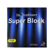 Yinhe Dr Neubauer Karet / Rubber Bintik Bat Pingpong Tenis Meja Super Block - Hitam
