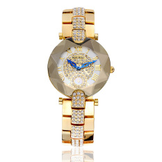 Yiokmty Sousou 2016 Nian New Shelves Explosion Models Ladies Watches Women Watch With Diamond Factory Direct Foreign Trade (Gold)