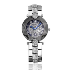 Yiokmty Sousou 2016 Nian New Shelves Explosion Models Ladies Watches Women Watch With Diamond Factory Direct Foreign Trade (Silver)