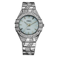 YJJZB Kingsky Lady All-match Diamond Watch Brand Female Table Quartz Watch Manufacturers More Drilling Pop Group