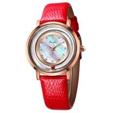 YJJZB Ms. KIMIO Quartz Watch Fashion Bracelet Watch Fashion Female Form 546m (Red)