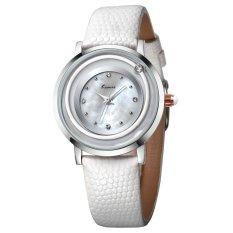 YJJZB Ms. KIMIO Quartz Watch Fashion Bracelet Watch Fashion Female Form 546m (White)