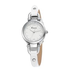 YJJZB Ms. KIMIO Quartz Watches I Circle Stickers Shek Tsai Bracelet Watch Fashion Female Form 545s (White)