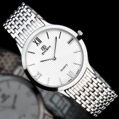 YJJZB Taobao Know When The Explosion Of Men's Casual Fashion Slim Quartz Steel Large Dial Stainless Steel Watch One Generation