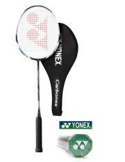 Yonex Badmintion 1 x Carbonex 7000DF racket, 3 x shuttlecocks Set. - Intl